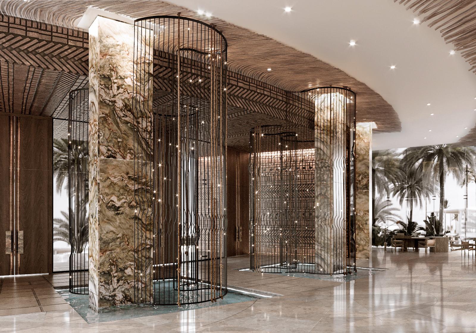Reception Interior Entry